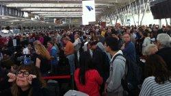 Хаос в аэропорту Сиднея