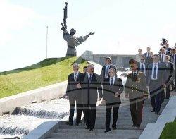 Лукашенко и Путин посетили музей истории Великой Отечественной войны в Минске (+видео)