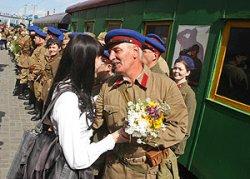 Поезд Победы на паровозной тяге будет курсировать в Барановичах