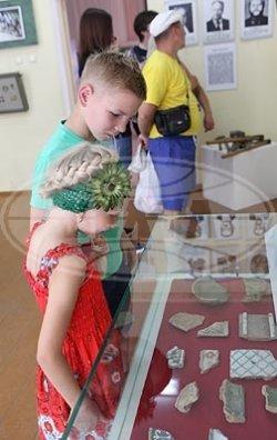 Археологические находки Верхнего Поднепровья представлены на выставке в Александрии