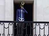 Могилевчанам предложили придумать имя для механической фигуры трубача на городской ратуше