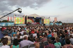 """Около 100 тыс. человек посетили праздник """"Купалье"""" в Александрии"""