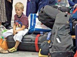 О сохранности багажа туристов автобусов