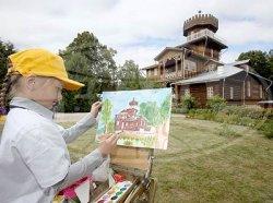 Музей-усадьба «Здравнево» пополнилась копиями картин художников-передвижников