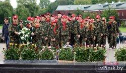«Дот Молчанова» открылся в Пинске в День освобождения города от немецко-фашистских захватчиков