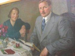 В Купаловском доме выставлены картины Петра Сергиевича