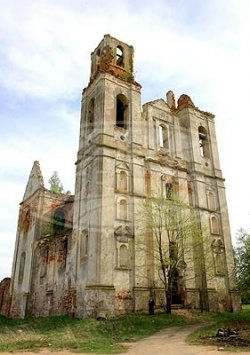 Уникальный памятник архитектуры позднего барокко находится в Ушачском районе