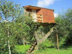 В усадьбе «Заречаны» состоялась презентация первого в Беларуси дома на дереве