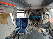 Пассажирские поезда столкнулись в Республике Корея. Один из них - туристический