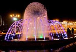 Светодинамические фонтаны в Витебске будут двигаться в такт популярным мелодиям