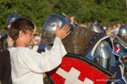 «Рыцарский фест-2014» в Мстиславле собрал тысячи гостей и участников из Беларуси и России