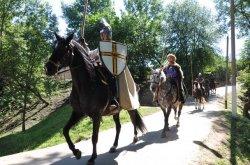Праздник средневековой культуры «Рыцарскi фэст. Мсцicлаў-2014»