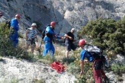 За два месяца спасатели сняли с крымских гор 35 туристов