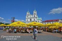 Почему в центре Гродно до сих пор не хватает уличных кафе?
