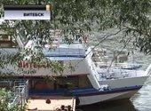 В Витебске два теплохода стали на якорь из-за низкого уровня воды в Западной Двине