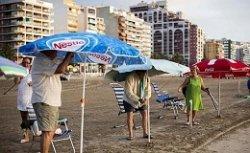 Пляж в Кульере: кто не успел – тот опоздал