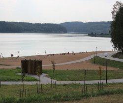 Недалеко от Минска открылся новый песчаный пляж