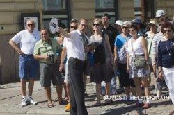 Хельсинки: на фоне спада групп из России наблюдается увеличение количества туристов из Украины и Беларуси