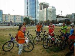 В столице впервые прошла велоэкскурсия «Как торговали в Минске»