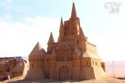 На пляжах Германии запретили строить замки из песка