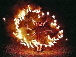 На международном фестивале огня в Ратомке выступит оркестр, объятый пламенем