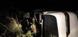 Под Смоленском перевернулся автобус с 47 туристами