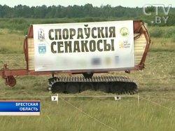 Международные соревнования косцов стартовали в биологическом заказнике «Споровский» в Брестской области
