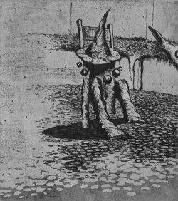 Грустный фантаст и нетипичный график Сергей Баленок приглашает на выставку своих работ