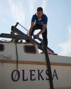 Брестский яхтсмен-энтузиаст спустил на воду собственную яхту
