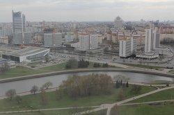 В День города полюбоваться видами со смотровой площадки гостиницы «Беларусь» можно будет бесплатно