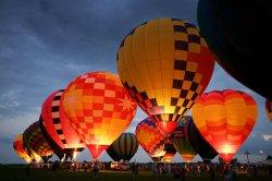 Ночное шоу светящихся воздушных шаров начнется в Минске в субботу в 21.30