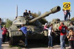 День танкиста отметили на «Линии Сталина»