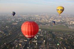 Репортаж из корзины воздушного шара: как выглядит Минск с высоты птичьего полета