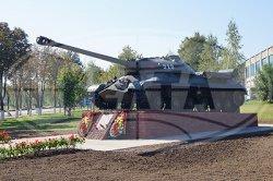 Памятник-танк ИС-3 появился в Клецке