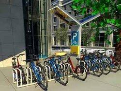 В Минске появятся велопарковки и автобусные остановки на солнечных батареях