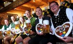 В Мюнхене начался пивной фестиваль «Октоберфест»