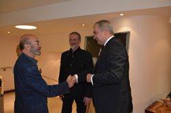 Выставка белорусского художника Виктора Альшевского открылась в Париже
