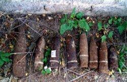 На территории гольф-клуба под Минском нашли мины и гранаты времен Великой Отечественной