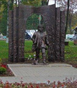 Скульптура героя поэмы «Тарас на Парнасе» появилась в Островлянах