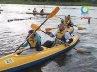 Закрытие туристического судоходства в Гродно отметили водным марафоном (+видео)