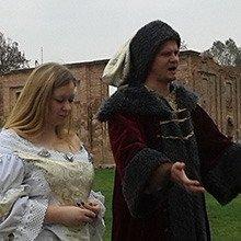 Фата на фоне руин. Свадебные церемонии в Ружанском комплексе Сапегов обретают популярность
