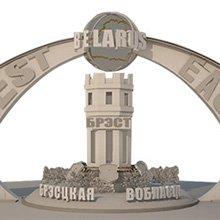 В конкурсе проектов въездного знака в Брест победителем стал эскиз «Мост»