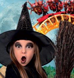 В парке аттракционов «Терра Митика» стартовал сезон Хэллоуина