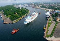 За круизный сезон порт Гданьск посетили 15 тысяч туристов