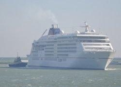 В Одессу зашло два пассажирских теплохода Hapag-Lloyd с немецкими туристами на борту