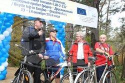 Новый турмаршрут испытали в Гродно во время международного велопробега