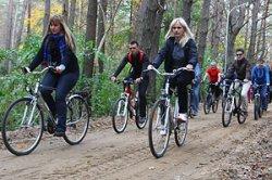 Делегация из Гродно отправилась на встречу по развитию туризма в Друскининкай на велосипедах