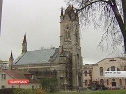 Единственную в Беларуси лютеранскую кирху реставрируют впервые за долгие годы