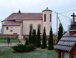 У Камаях адрэстаўравалі касцёл Святога Яна Хрысціцеля