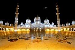 Лукашенко посетил Большую мечеть имени шейха Заида
